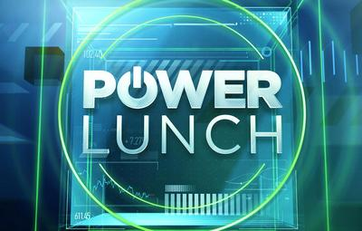 Логотип программы Power Lunch